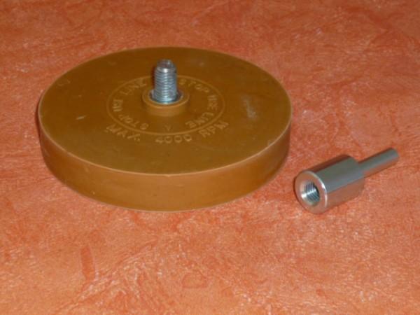 Radierscheibe, Entferner für Klebegewichte Rückstände,Klebegewichtentferner,Folienradierer