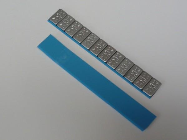 Stahl-Kleberiegel flach 30g KU-beschichtet 20 Stück