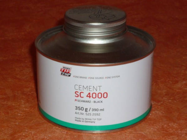 TipTop CEMENT SC 4000 schwarz 350g