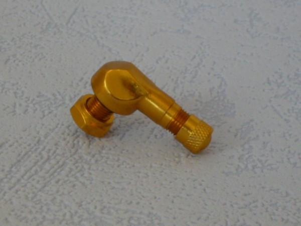 Winkelventil 8,3 mm gold 1 Stück