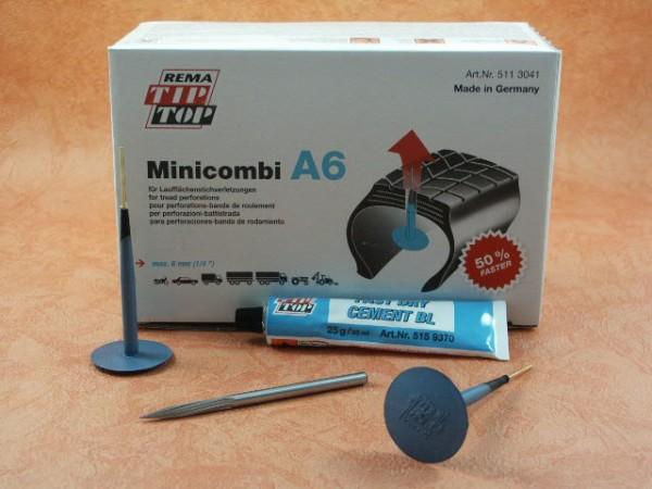 Minicombi,A6,Rema Tip Top,Reifen,Reparatur,Werkstatt,Fräser 6mm