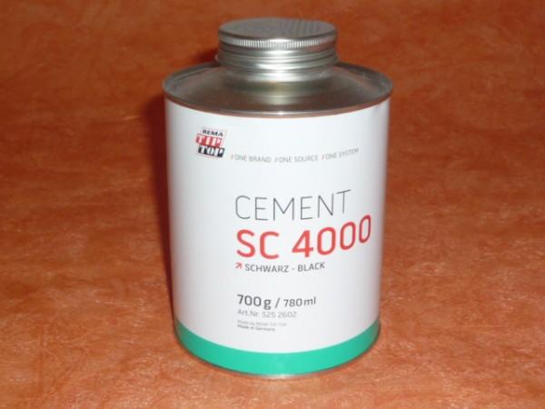 TipTop CEMENT SC 4000 schwarz 700g