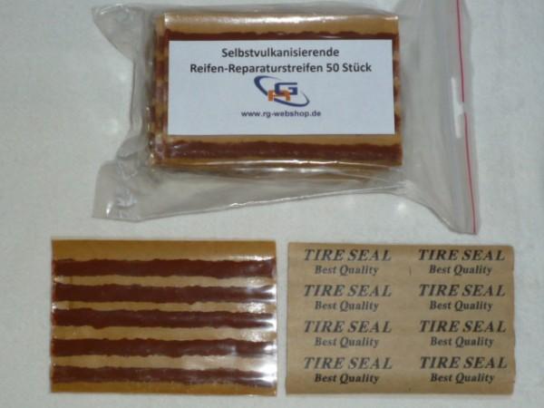 Selbstvulkanisierende Reparaturstreifen 100 mm 50 Stück