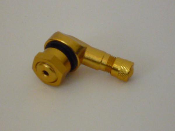 Winkelventil 11,3 mm gold 1 Stück
