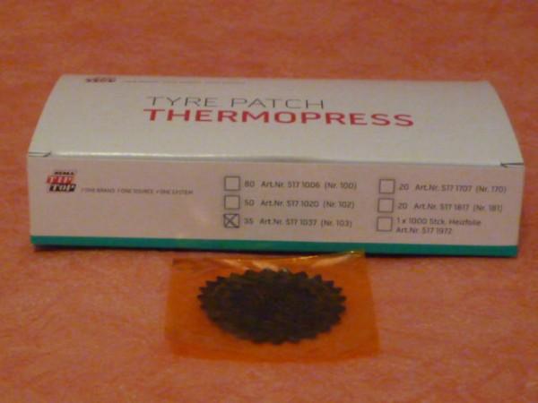 Tip Top Thermopress Pflaster Nr. 103 35 Stück