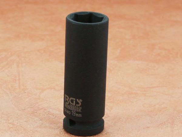 """Kraft-Steckschlüssel-Einsatz 19 mm 1/2"""""""