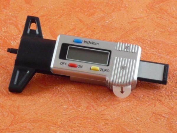 Profiltiefenmesser Digital 0-25,4 mm