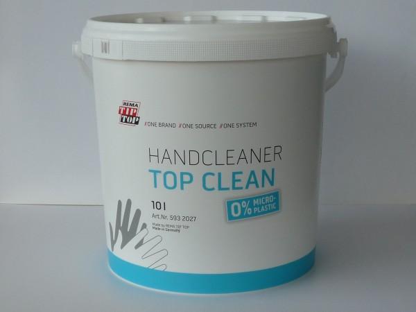 Tip Top Hand Cleaner Top Clean 10 Liter, 0% MICRO-PLASTIC