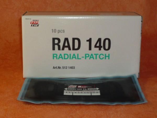 Tip Top RAD 140 TL Reparaturpflaster 10 Stück