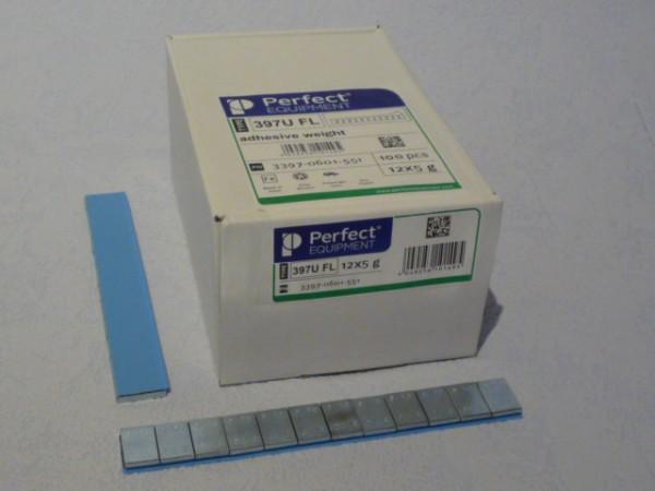 Perfect Equipment PKW Stahl-Kleberiegel verzinkt 60g 50 Stück,auswuchten,Klebegewicht