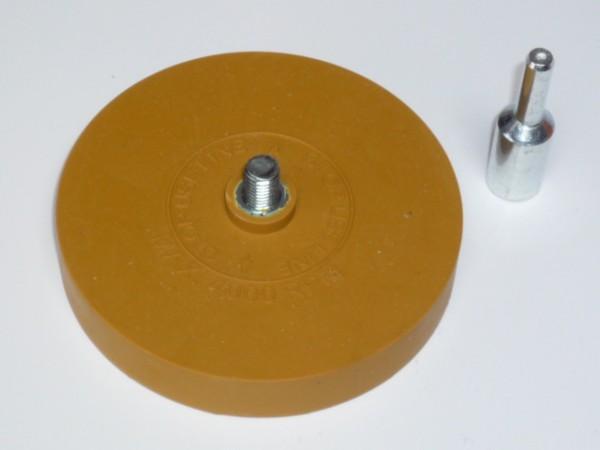 Radierscheibe, Entferner für Klebegewichte-Rückstände
